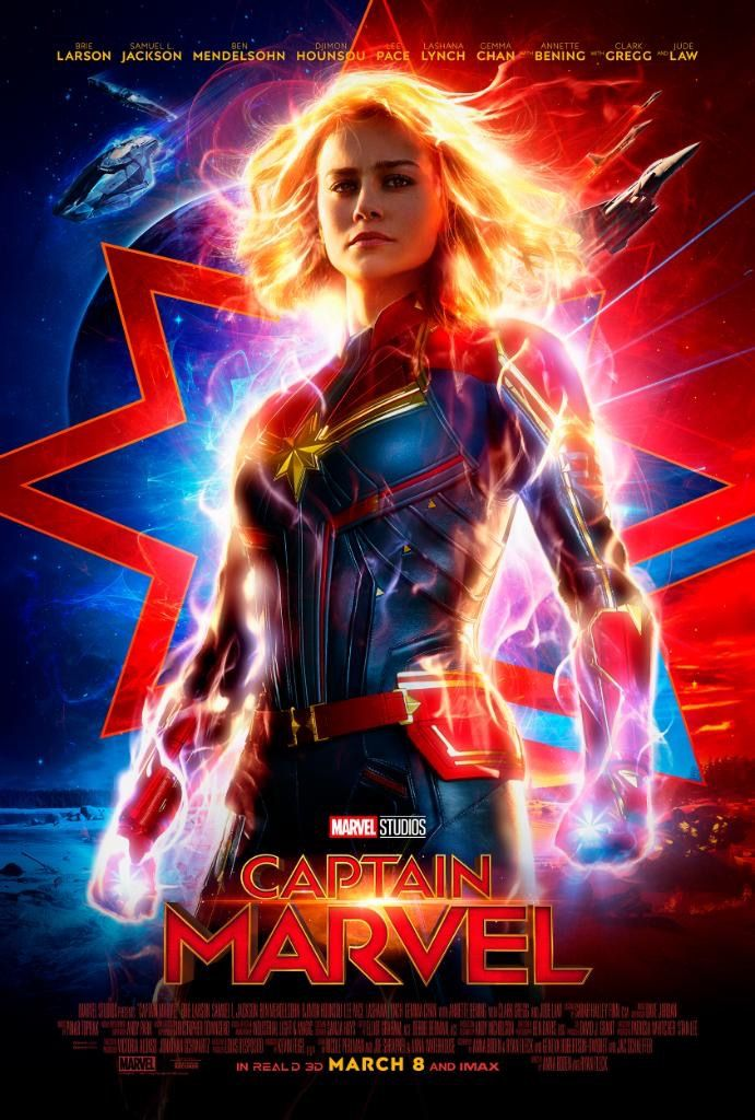 CAPTAIN MARVEL Exclusief in 6D